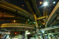 箱崎JCT 通称ヤマタノオロチ 水天宮前駅からすぐです。